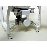 Lens Cap & Cam Secure for DJI Phantom (White)